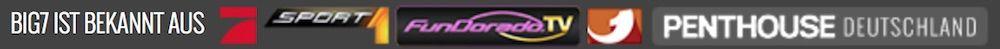 Bekannt aus TV Werbung mit Logos der Sender