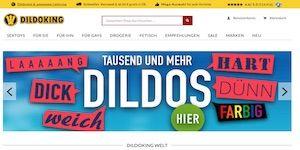 Dildoking Webseite Vorschau