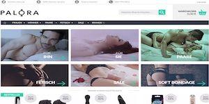 Palora Webseite Vorschau