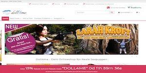 doll4me Webseite Vorschau