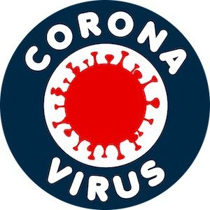 Corona Virus als Symbol